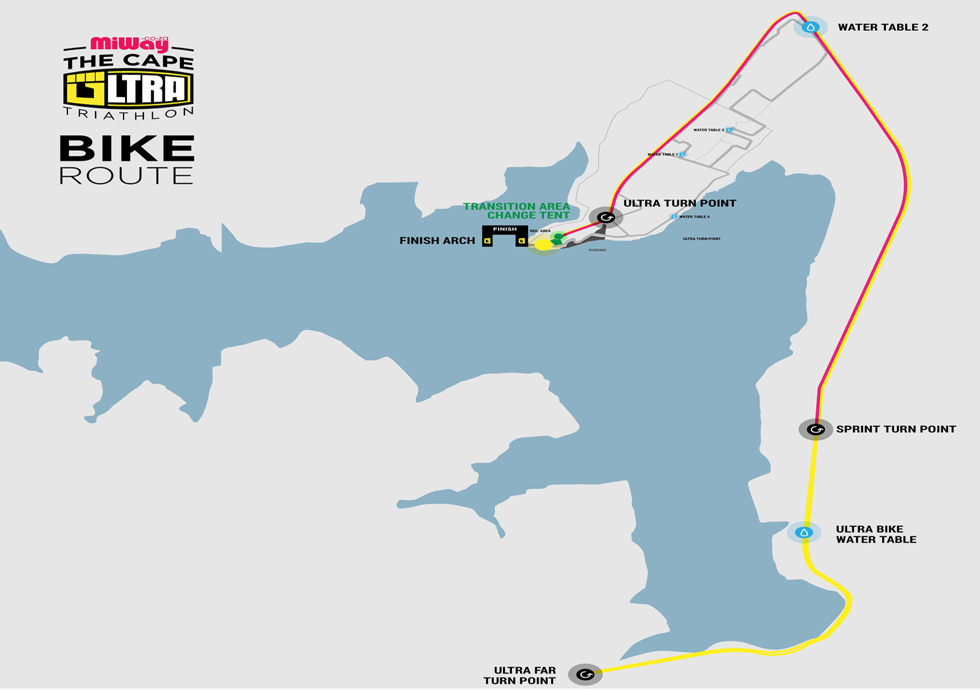 ultra run route map