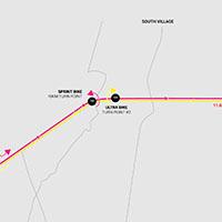 ultra run route map